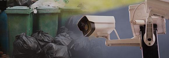 쓰레기 불법투기 감시 시스템